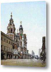 Постер Улица Покровка в Москве