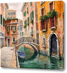 Венеция. Венецианский канал.