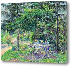 Картина Дети в саду у Эраньи