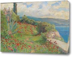Постер Весенний день на побережье