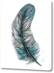 Постер Лазурное перо