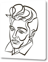 Постер Элвис Пресли.