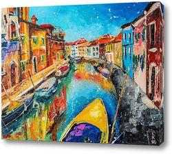 Картина Водный канал