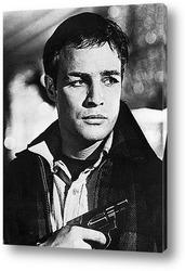 """Марлон Брандо в фильме""""Крёстный отец"""",1972г."""