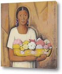 Постер Индия цветы