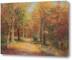 Картина Осеняя дорога...