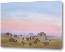 Картина Привал каравана
