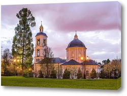 Постер Церковь во имя иконы Пресвятой Богородицы Живоносный Источник в Царицыно