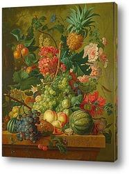 Картина Фрукты и цветы