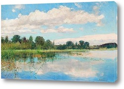 Постер Озеро пейзаж