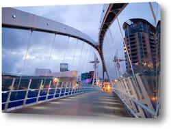 Постер Мост миллениум вид с боку