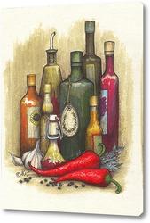 Картина Просто растительное масло