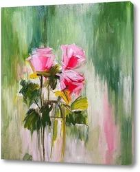 Постер Три розы.