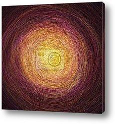 Абстрактный туннель-оранжевые линии