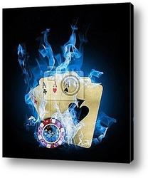 Постер Blue fire