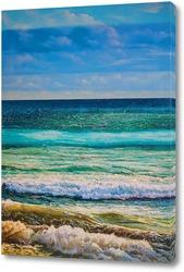 Картина Оттенки моря