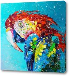 Картина Попугай Ара