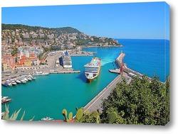 Картина Порт Ницца