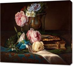 Постер Медовая роза
