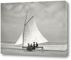 Постер Виндсерфинг в Ормонде, штат Флорида, 1900