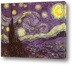 Постер Звёздная ночь