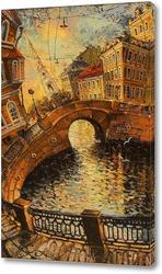 Картина Петербургский променад