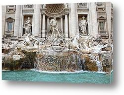 Постер Fontana di Trevi, Roma