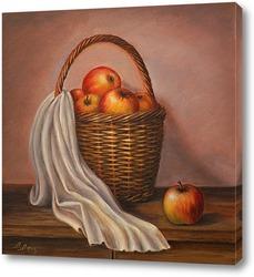 Картина Урожай яблок