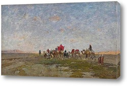 Картина Караван в пустыне