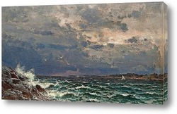 Картина Бурное море