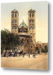 Башня Святого Марка, Ротенбург (т.е. об-дер-Таубер), Бавария, Германия. 1890-1900 гг