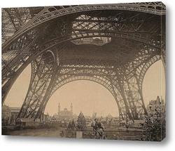 Художественная фотография Эйфелевой башни