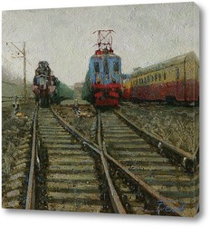 Картина Конечная станция