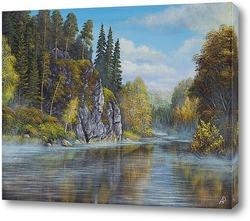 Постер Осень на Чусовой