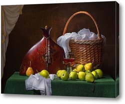 Постер Натюрморт с грушами