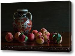 Постер С персиками