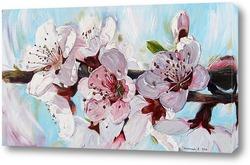Картина Цветущий персик