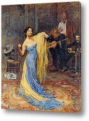 Постер Портрет танцовщицы Анны Павловой