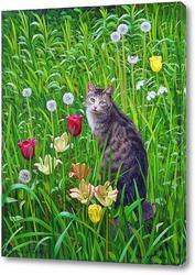 Картина Мой кот Поль