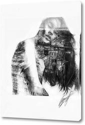 Постер Внутри отражения