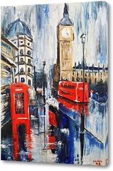 Картина Туманный Лондон