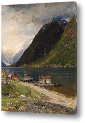 Фьорд пейзаж