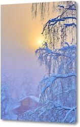 Постер Зимнее утро