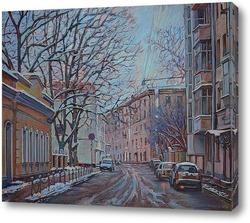 Картина Большой Левшинский переулок