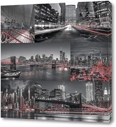 Постер Виды Нью Йорка