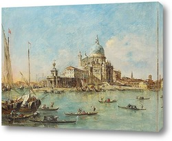Постер Венеция: Пунта делла Догана, 1770
