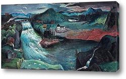 Постер Озеро Рамсель