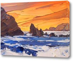 Картина Буйное море
