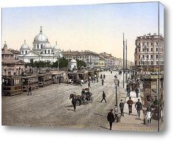 Постер Санкт петербург 19 век