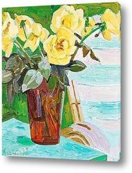 Натюрморт с желтыми цветами, 1939
